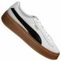 PUMA Basket Platform Perf Gum Damen Sneaker 366807-01