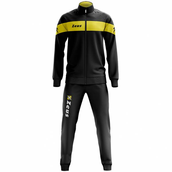 Zeus Tuta Apollo Men Tracksuit black yellow