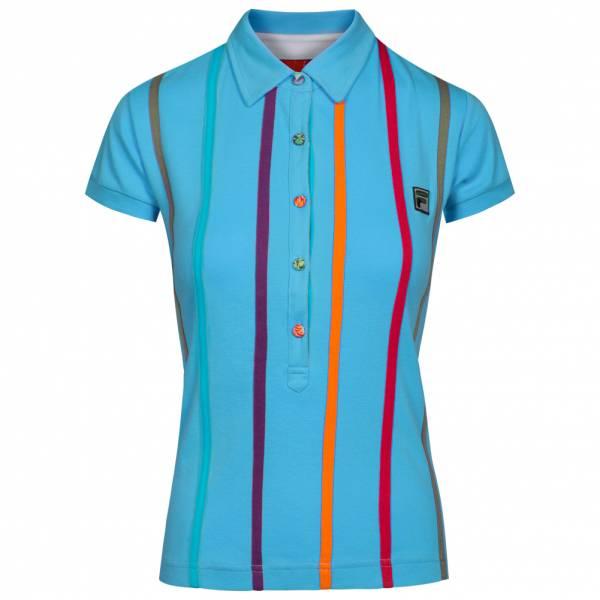 FILA Damen Striped Retro Polo-Shirt U89902-492