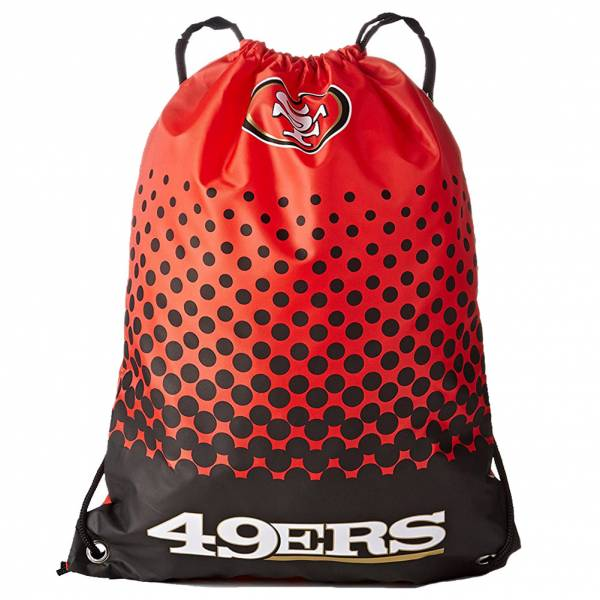 San Francisco 49ers NFL Fade Gym Bag Sportbeutel LGNFLFADEGYMSF