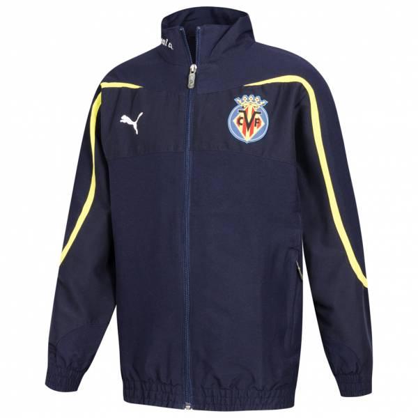 FC Villarreal PUMA Kinder Jacke 737714-01