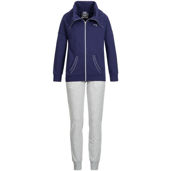 PUMA Damen Sweat Anzug Sportanzug Suit 837154-02