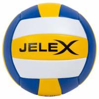 JELEX Softtouch Volleyball yellow darkblue white
