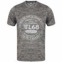 Tokyo Laundry Fitchburg Reflective Motif Men's T-Shirt 1C10829 Frost Gray