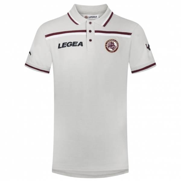 AS Livorno Calcio Legea Hombre Polo de manga corta gris