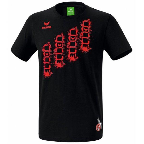 1. FC Köln Erima Graffic 5-Cubes Fan T- Shirt 250603