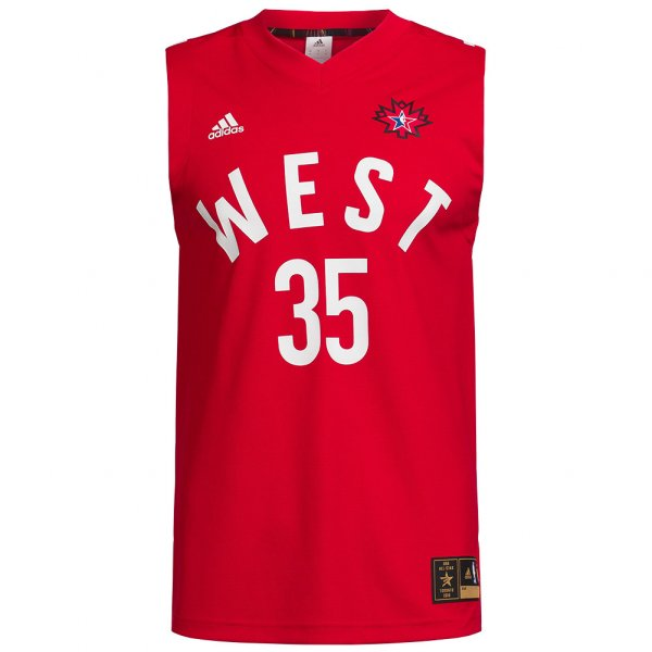 NBA All Star West adidas Basketball Trikot #35 Durant AC2641