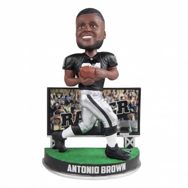 Oakland Raiders Antonio Brown Billboard 20cm Bobblehead BHNFSMUBILLORAB