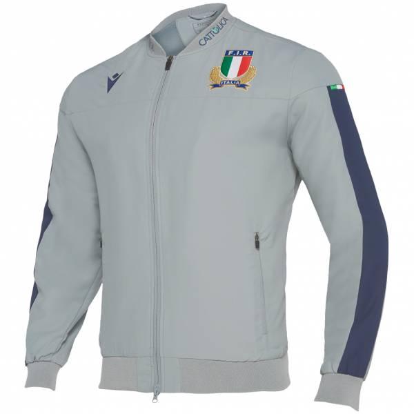 Italien FIR macron Herren Fan Trainingsjacke 58100129
