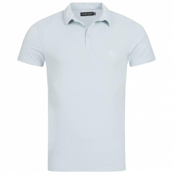 Process Black Ferrigno Herren Polo-Shirt MPS-PB69FERRIGNO Baby Blue