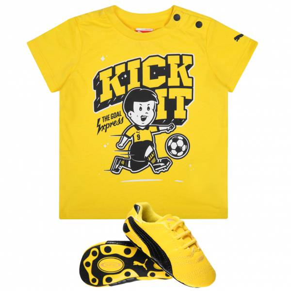 PUMA Crib Pack Baby Set T-Shirt + Schuhe 355988-01