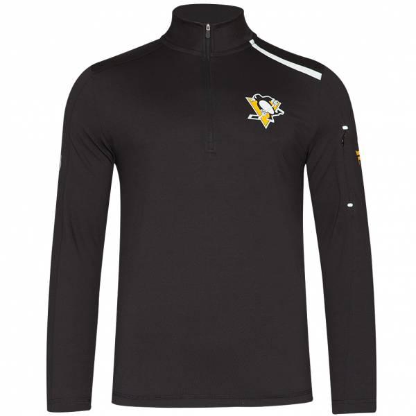 Pittsburgh Penguins Fanatics 1/4-Zip Herren Trainings Sweatshirt MA27127A2GT45U