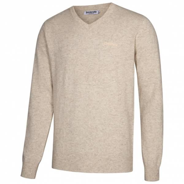 Lambretta Lambswool Sweater Herren Lammwolle Sweatshirt RWIK0045-CEMENT
