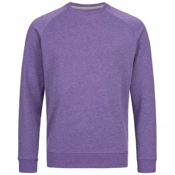 RUSSELL Raglan Herren Sweatshirt 0R280M0-Purple-Marl