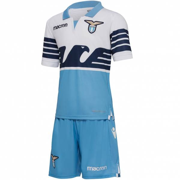 Lazio Rom macron Heim Kinder Trikot Set 58023820