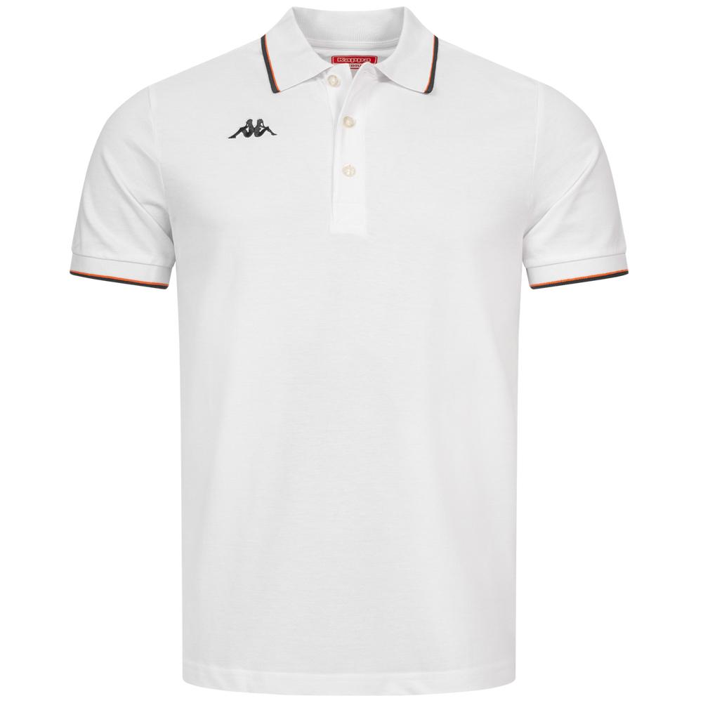 Kappa Woffen Herren Polo-Shirt KA-303IA white