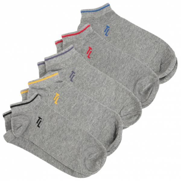 Tokyo Laundry Northside Set da 5 Calzini corti sneaker 1R13029