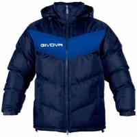 Veste hiver Givova Giubbotto Podio bleu marine / bleu