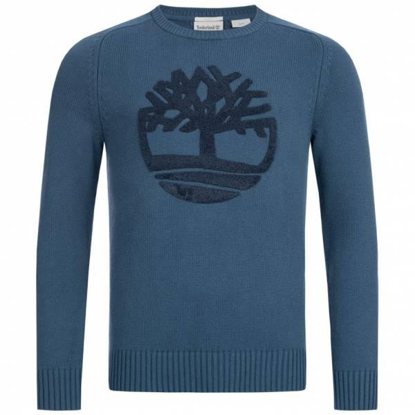 Timberland Slim Fit River Textured Merino Herren Sweatshirt A1OXL-288