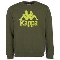 Kappa Herren Sweatshirt Sertum Pullover 703797-375 Olive