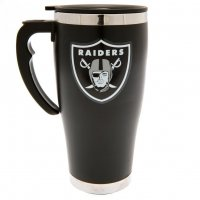 Oakland Raiders NFL Foil Print Travel Mug Thermobecher MGNFLTRAVOR