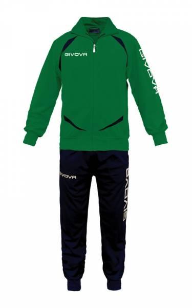 Givova Tuta Training Gold Trainingsanzug grün/schwarz