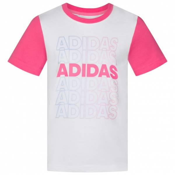 adidas Logo Mädchen T-Shirt EH4082