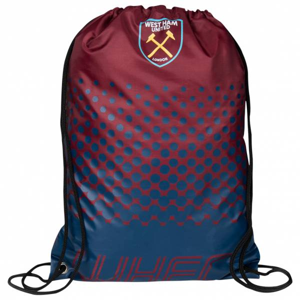 West Ham United FC Fade Fan Gym Bag Gym Bag LGEPFADEGYMWHM