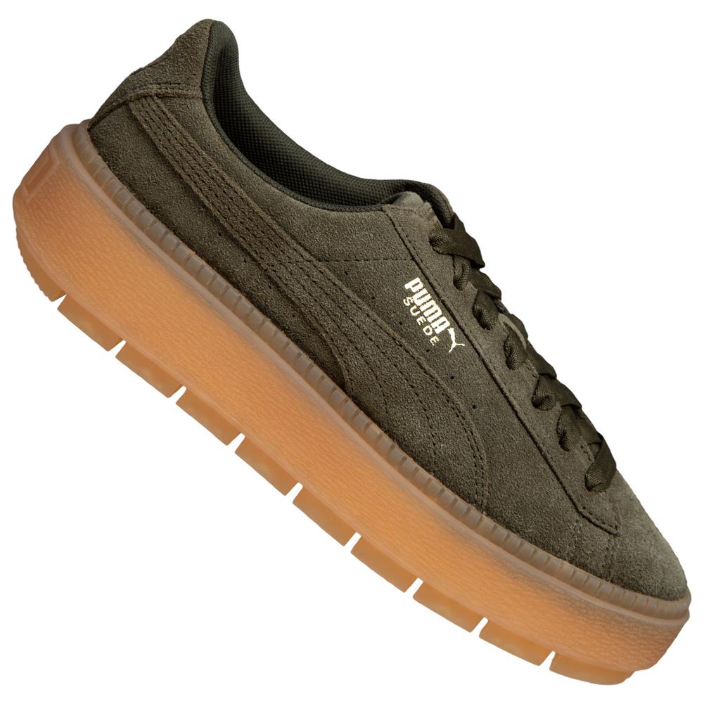 the best attitude 579c2 fc78b PUMA Suede Platform Trace Women's Sneaker 365830-03