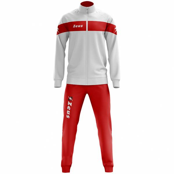 Zeus Tuta Apollo Men Tracksuit white red
