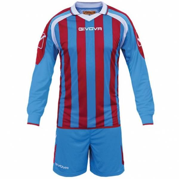 Givova Kit Rumor Football Set Manica lunga Maglietta + Short KITC25-0212