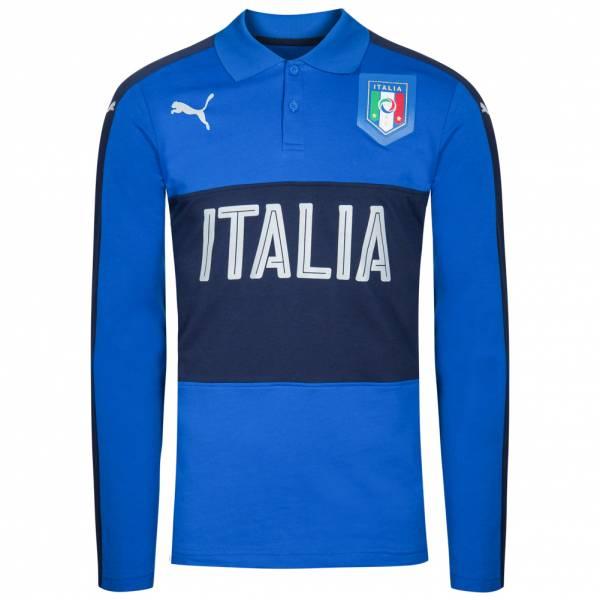Italien PUMA Herren Casual Performance Langarm Polo-Shirt 750531-08