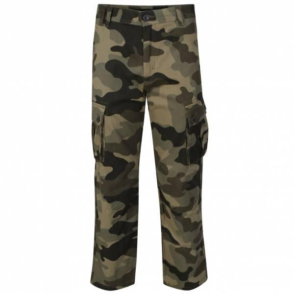 DNM Dissident Wetlands Herren Cotton Twill Cargo Hose Camouflage 1F8088