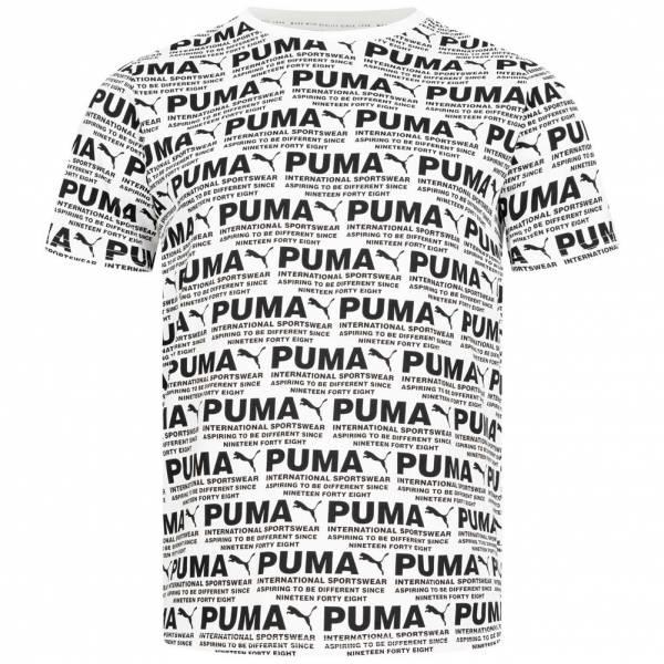 PUMA Avenir Graphic All Over Print Herren T-Shirt 597495-02