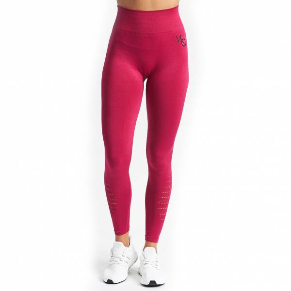 Vanquish Virtue Seamless Damen Fitness Leggings Cerise