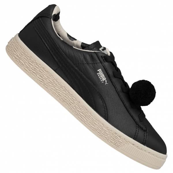 PUMA x Tinycottons Basket PomPom Bambini Sneakers 366191-01