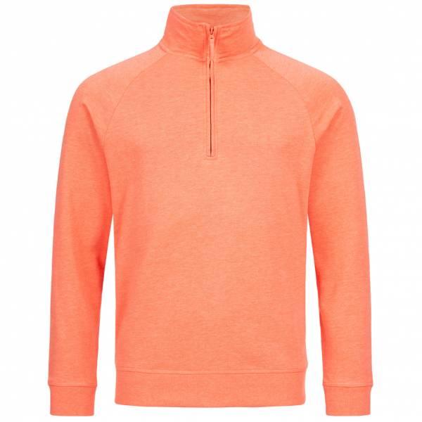 RUSSELL 1/4 Zip Herren Sweatshirt 0R282M0-Coral-Marl