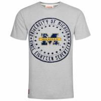 Michigan Wolverines American Freshman Herren T-Shirt APE01091-GREY MARL