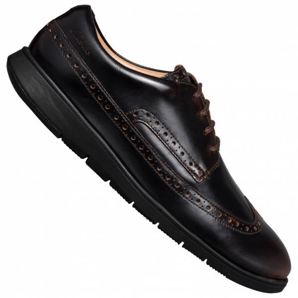 Clarks Helston Limit Herren Leder Schuhe 261482997