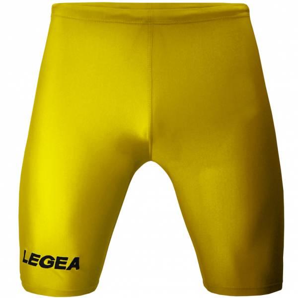 Legea Corsa Calzamaglia da calcio giallo