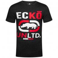 Ecko Unltd. Brands Hatch Herren T-Shirt ESK04300 Heather Charcoal