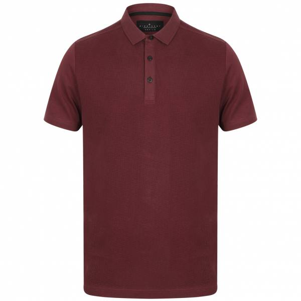 DNM Dissident Macbeth Herren Polo-Shirt 1X11456 Mulled Wine