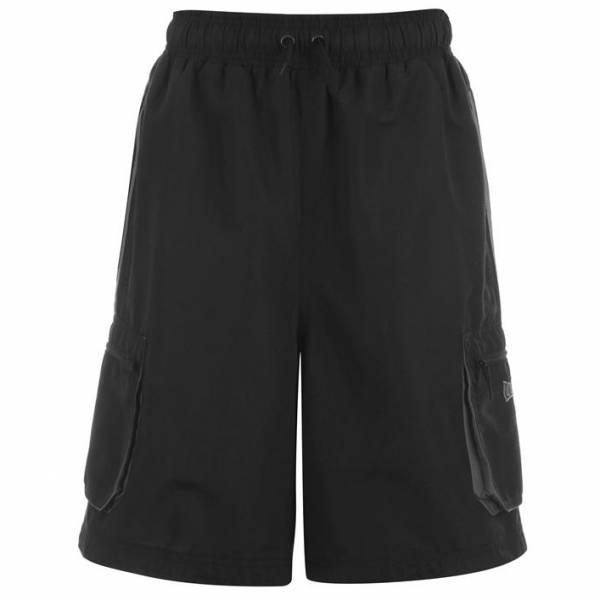 Lonsdale Herren Cargo Shorts schwarz