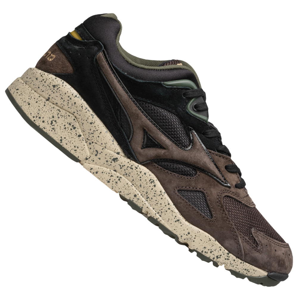 Mizuno Sky Medal Wild Nordic Sport Schuhe Mode Sneaker D1GA1923-55 braun neu