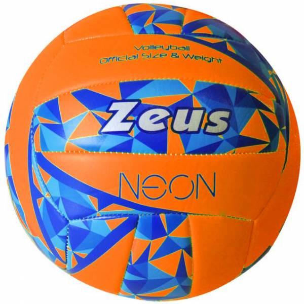 Zeus Beach Volleyball Neon Orange
