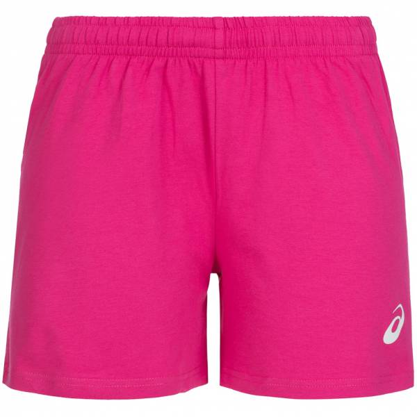 ASICS Damen Running Shorts Solid 130814-0286 Rosa