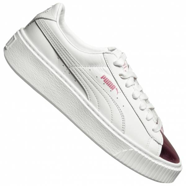 PUMA Basket Platform Metallic Damen Sneaker 366169-04