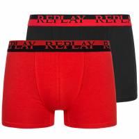 REPLAY Boxer Herren Boxershorts 2er-Pack 101141-N140