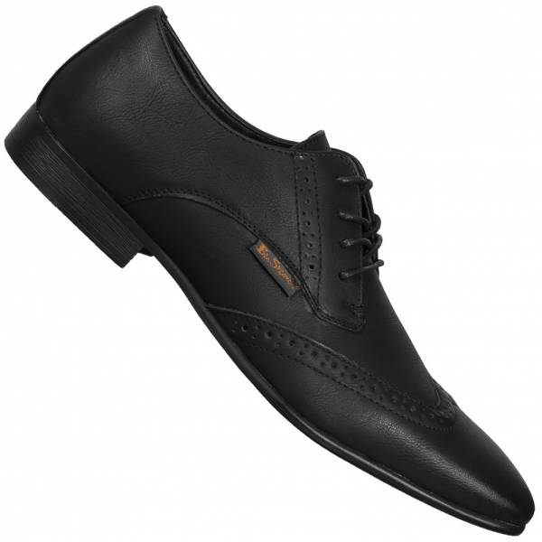 BEN SHERMAN Atiem Casual Schuhe 4 Eye Fashion Brogue black