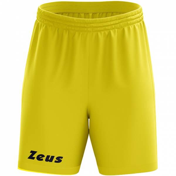 Zeus Jam Pantaloncini da basket giallo